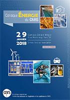 Colloque Énergie du CNRS